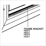 PE5614 - Frame Magnet - Small