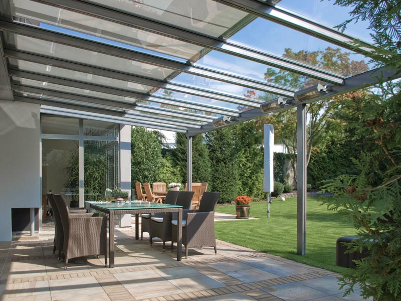terrado gp5100 gp5200 gp 5300 terrado glasdachsystem pergola. Black Bedroom Furniture Sets. Home Design Ideas