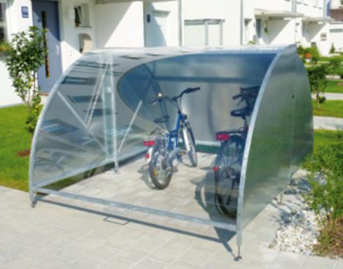 Extrem Velounterstände Velounterstand Fahrradunterstand Veloständer IV79