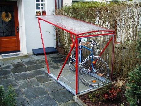 Relativ Velounterstände Velounterstand Fahrradunterstand Veloständer SD74