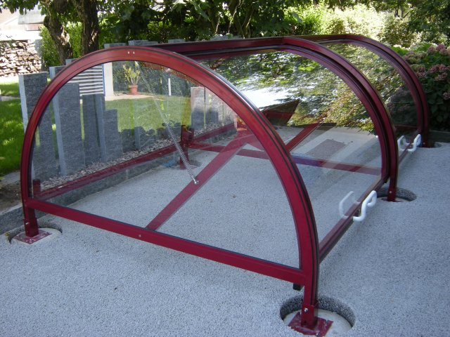 Sehr Velounterstände Velounterstand Fahrradunterstand Veloständer XV19
