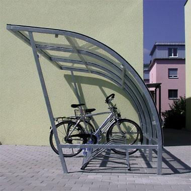Beliebt Velounterstände Velounterstand Fahrradunterstand Veloständer AD24